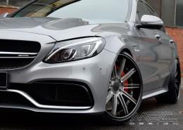 W205 C205 S205 C-Klasse Mercedes Tuning AMG Bodykit Felgen Auspuff Spurverbreiterung Carbon