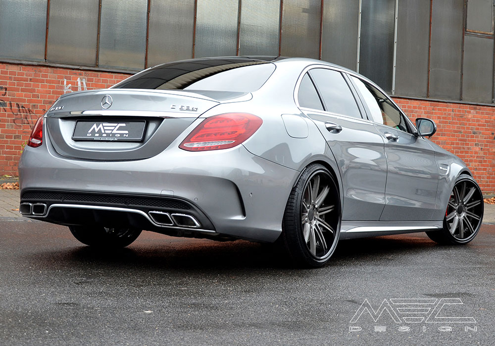Lowering System Of The Highest Quality For Your Mercedes Benz W205
