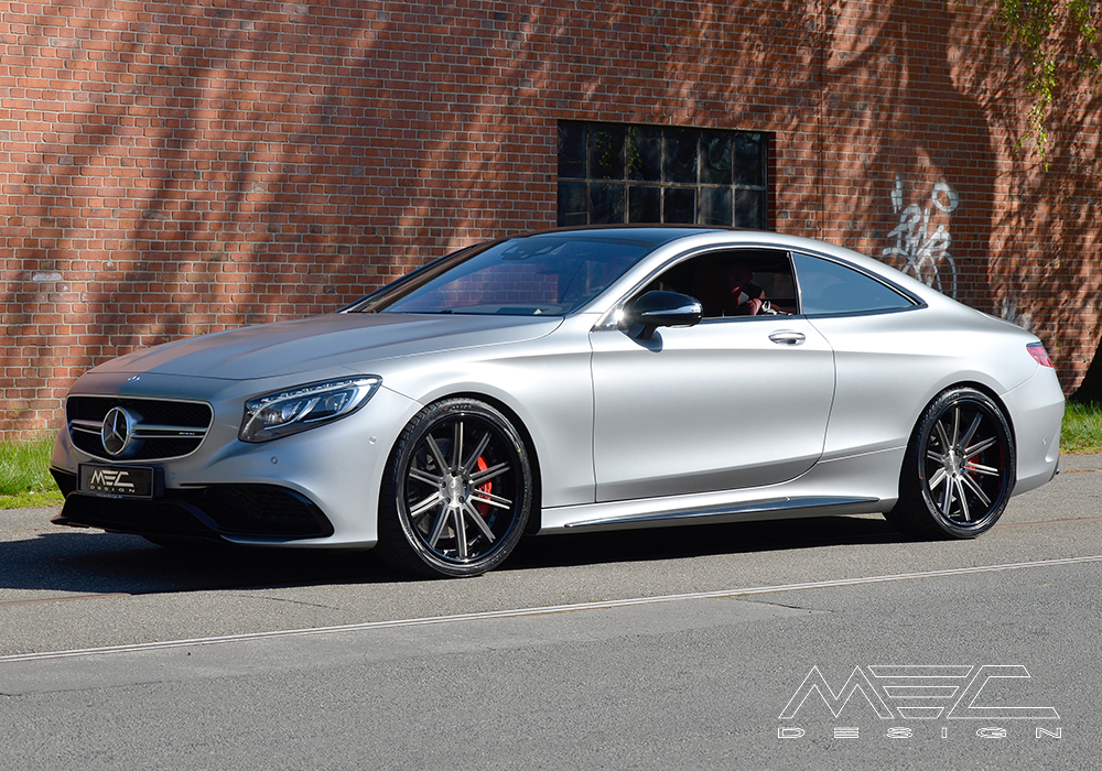 C217 S63 Amg Coup 233 With Ccd10 Wheels Mec Design