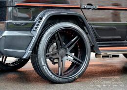 W463 G-Klasse Mercedes Tuning AMG Bodykit Felgen Auspuff Spurverbreiterung Carbon