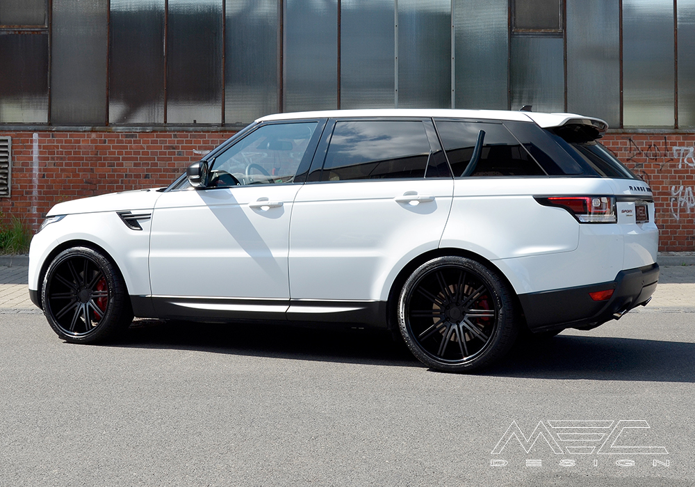 Range Rover Sport >> Range Rover Sport with CCd10 Wheels - MEC Design