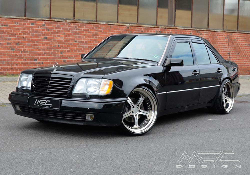 Mercedes Benz Coupe >> W124 E500 with mecxtreme3 three piece wheel - MEC Design