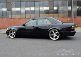 W124 Mercedes Tuning AMG Bodykit Felgen Auspuff Spurverbreiterung Carbon