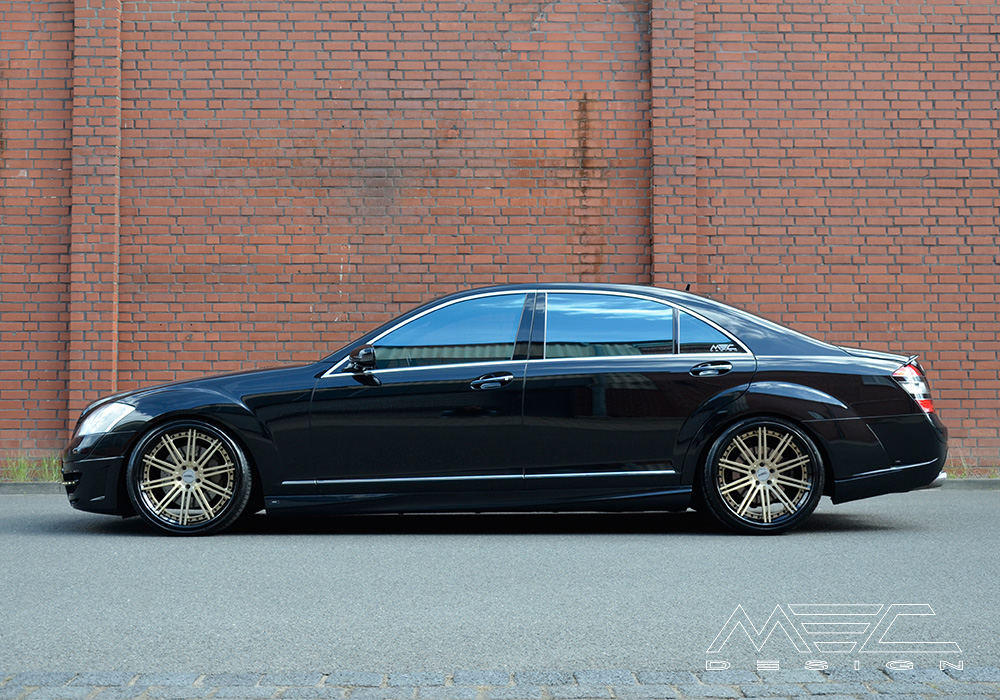 W221 S500 With Ccd10 Wheels Mec Design