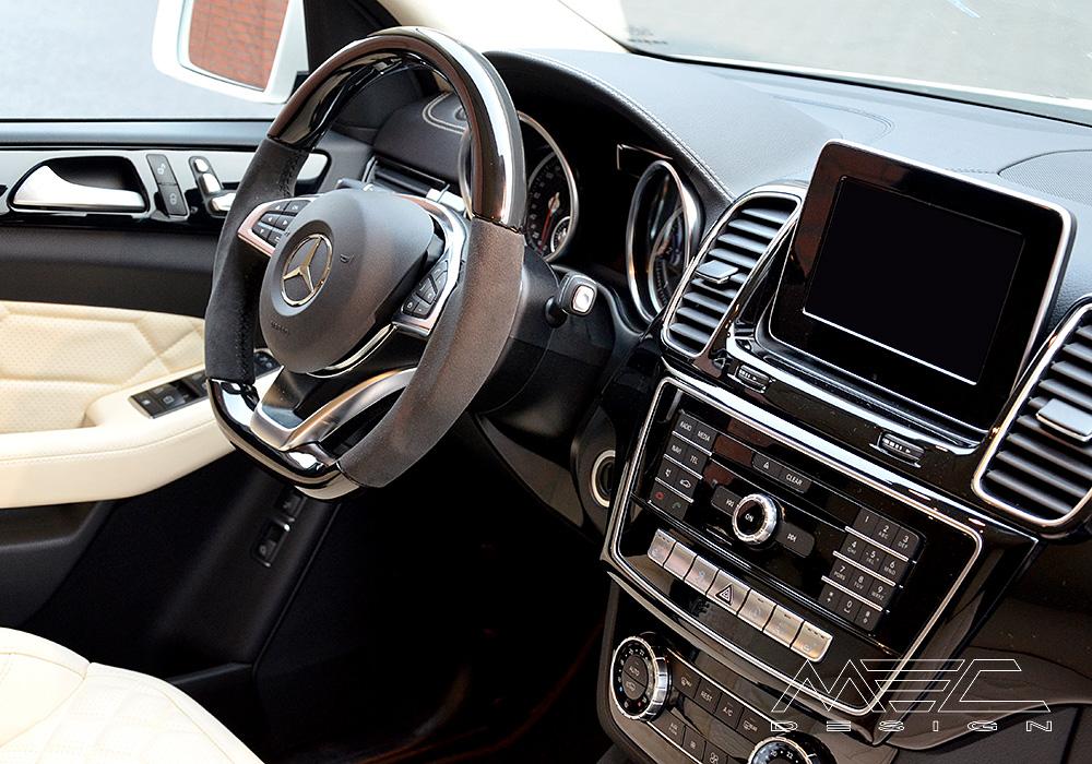 Mercedes C Sport Black Interior