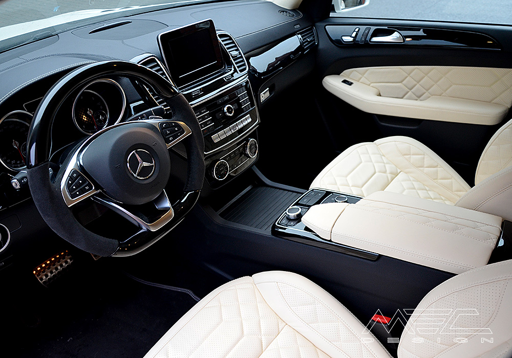 Noble interior for your Mercedes Benz W166
