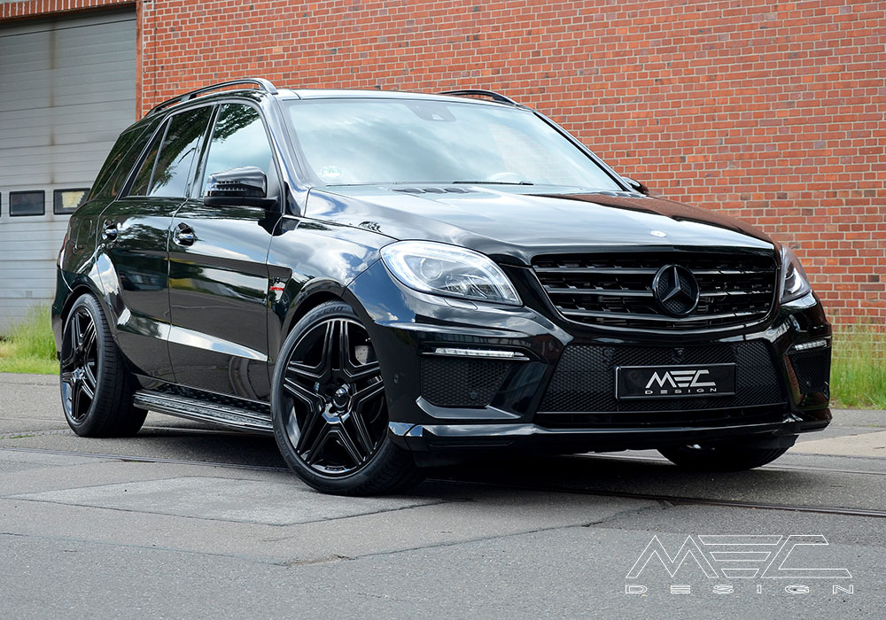 W166 ML GLE Mercedes Tuning AMG Bodykit Wheels Exhaust Spacer Carbon