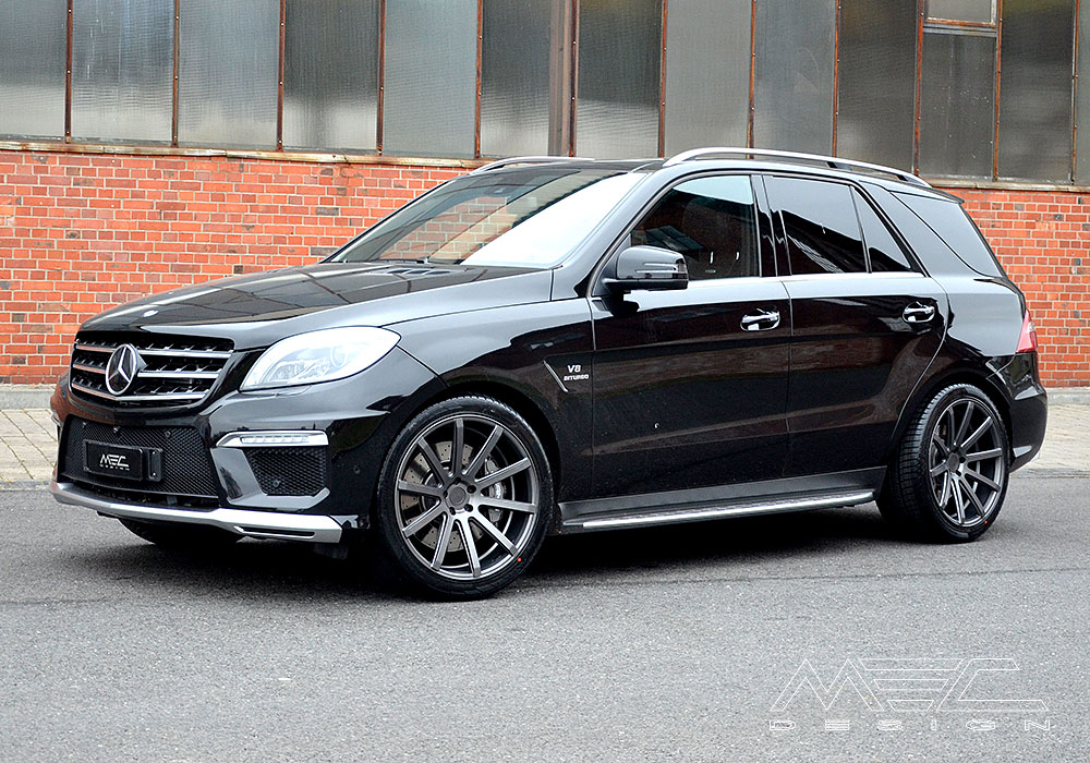 W166 Ml63 Amg With Condeni Nobilis Wheels Mec Design