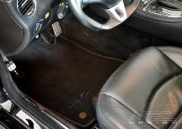 W219 CLS Mercedes Tuning AMG Interieur Carbon Leder