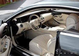 C217 A217 S Coupé S63 S65 Mercedes Tuning AMG Interior Carbon Leather