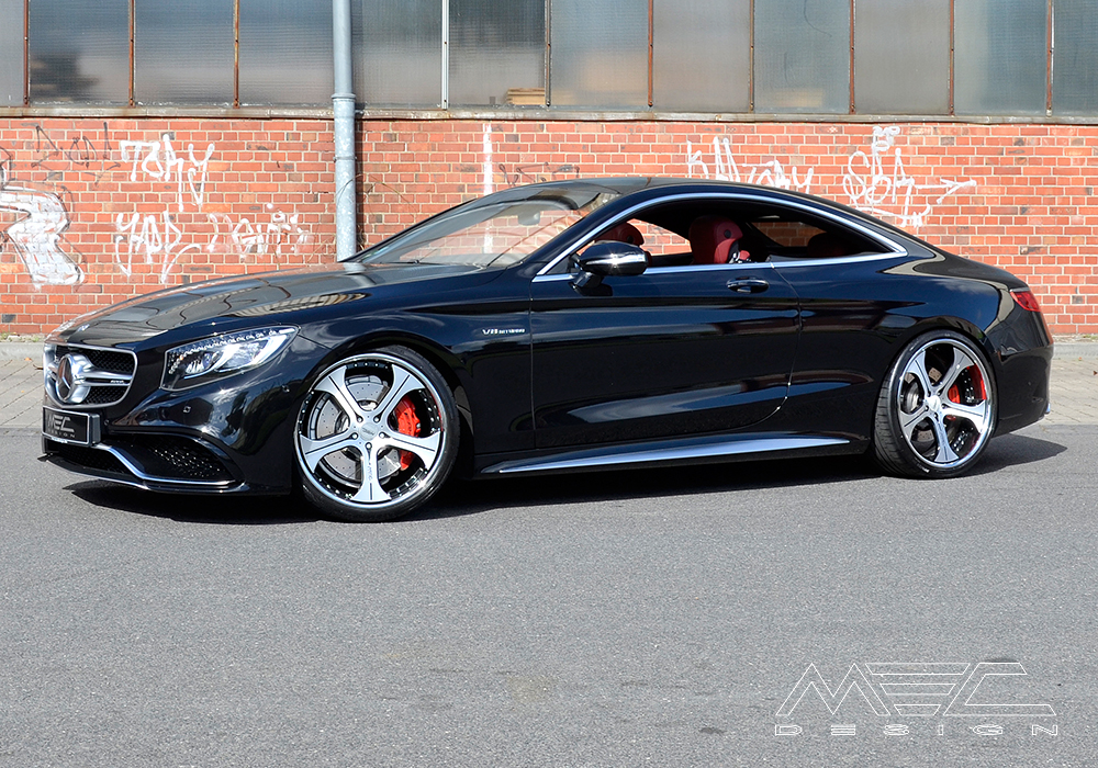 C217 S63 Amg Coup 233 With Cc3 Wheels Mec Design