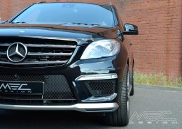 W166 ML GLE Mercedes Tuning AMG Bodykit Felgen Auspuff Spurverbreiterung Carbon