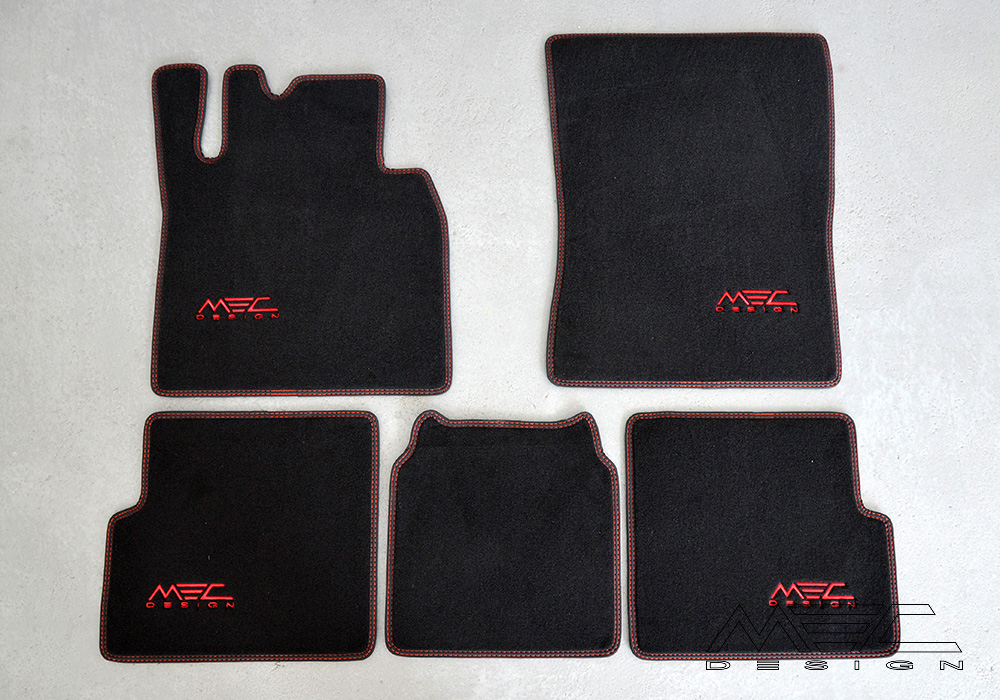 Luxury Floor Mats For Your Mercedes Benz W463