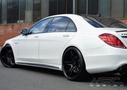 W222 S-Klasse Mercedes Tuning AMG Exterieur Black Label