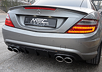 R172 SLK Roadster Mercedes Tuning AMG Bodykit Wheels Exhaust Spacer Carbon