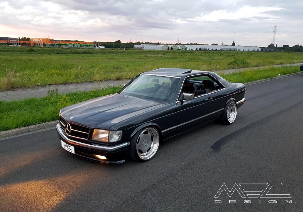 Mercedes Benz Gle Coupe >> W126 500SEC mit mec1 Felgen - MEC Design