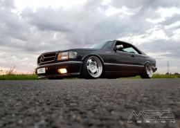 W126 SE SEL SEC Klasse Mercedes Tuning AMG Bodykit Felgen Auspuff Spurverbreiterung Carbon