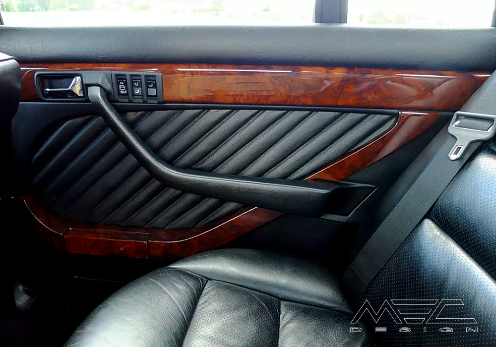 Noble Interior For Your Mercedes Benz W126 Se Sel Sec