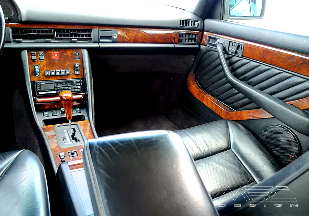 Noble interior for your Mercedes Benz W126 SE / SEL / SEC